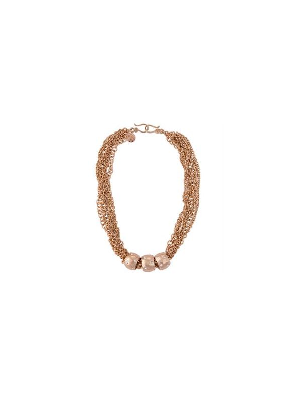 Zoe Rose Gold Necklace