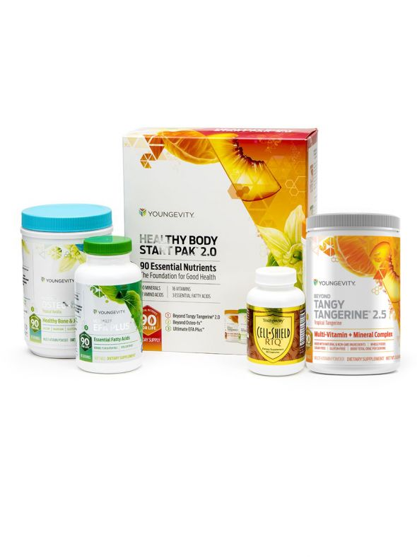 Anti-Aging Healthy Body Pak