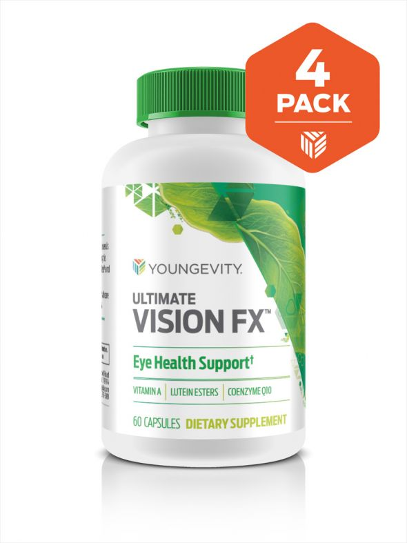 Ultimate Vision Fx™ - 60 capsules (4 Pack)